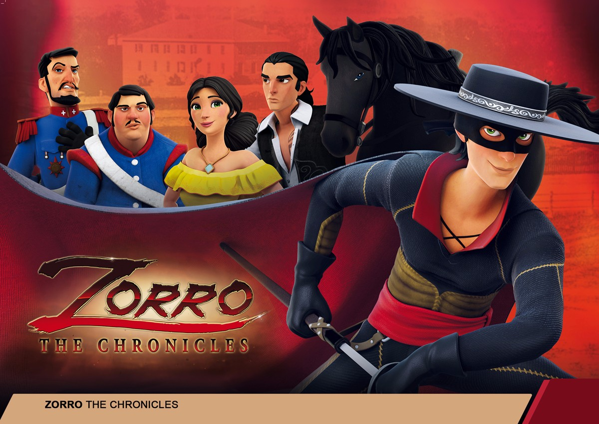 佐罗动画ZORRO THE CHRONICLES
